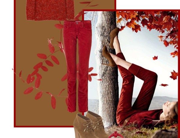 Icelle Red Casual