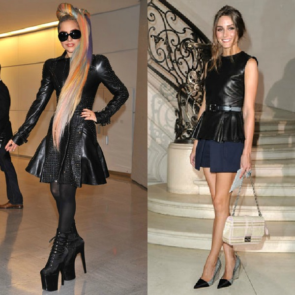Lady Gaga and Olivia Palermo
