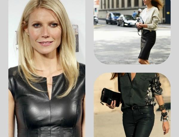 Leather Trend, Gwyneth Paltrow