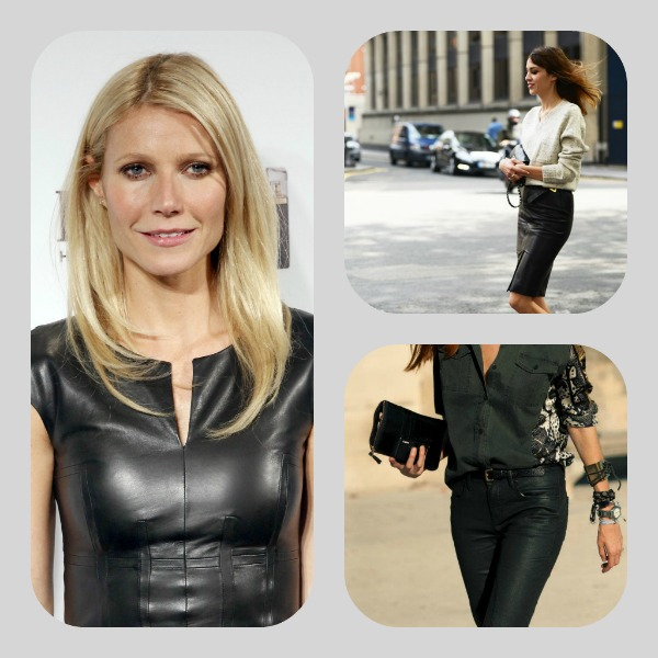 Leather Trend, Gwyneth Paltrow
