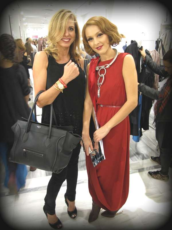 Nina Trendsurvivor Papaioannou and singer Tamta