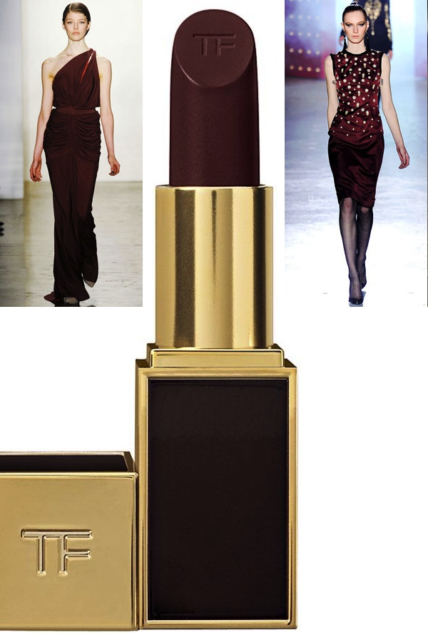 Costello Tagliapietra Jason Wu 2012-2013 Oxblood Red Tom Ford