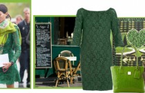 Icelle's Total Green Outfit