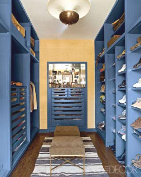 Interior designer Nate Berkus dressing room