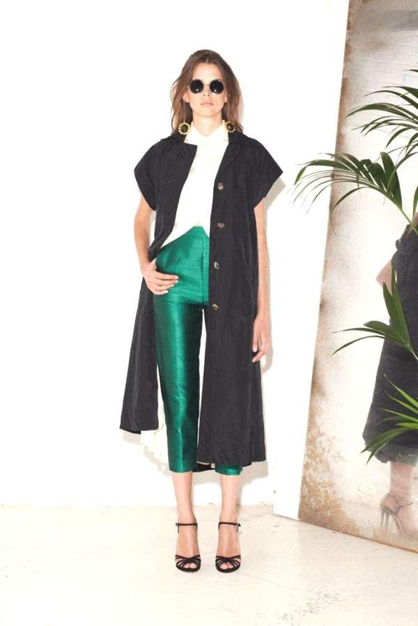 Isa Arfen SS 2013, green pants