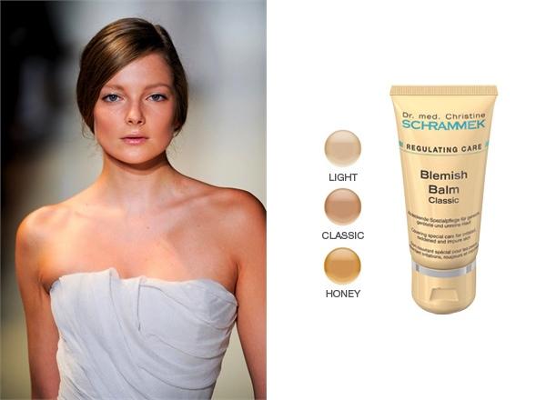 natural makeup, Dr Schrammek blemish control