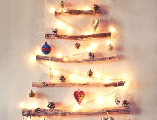 Wall Christmas Tree idea