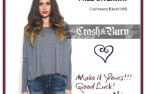 FREE GIVEAWAY ANNOUNCEMENT-  TRENDY CASHMERE SWEATER
