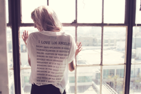 Love Los Angeles Limited-Edition Wildfox Tee