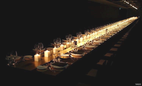Table decor Candles