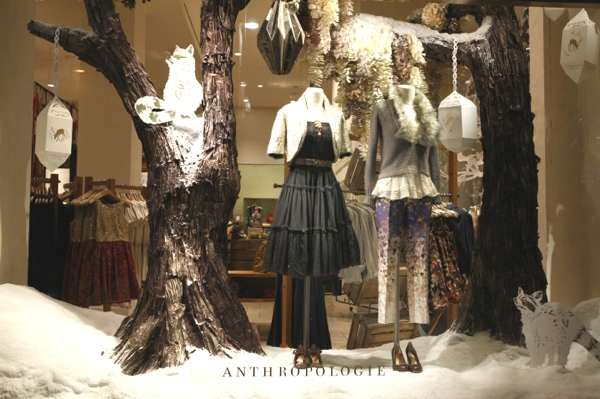 Anthropologie, New York 5th Avenue, October