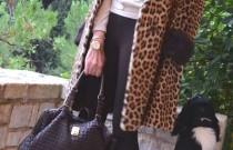 Hotel Grande Bretagne- My Kate Moss- Erin Wasson Leopard Fur Moment