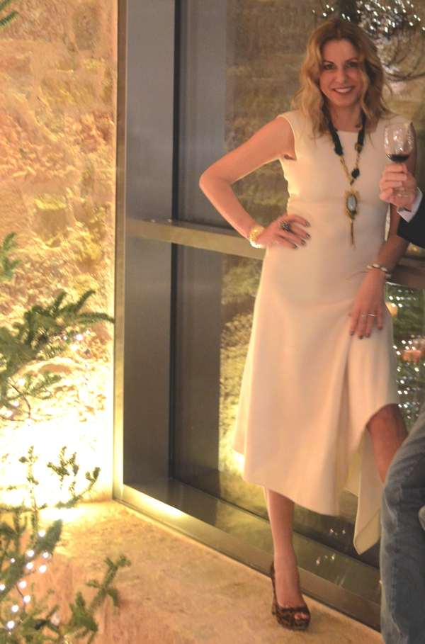 Donna Karan White dress