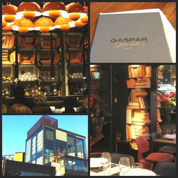 Gaspar Restaurant, Athens, Collage