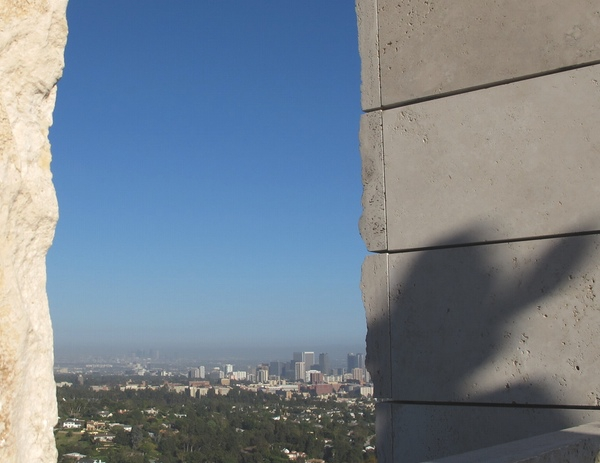 Los Angeles view from the Getty Centre