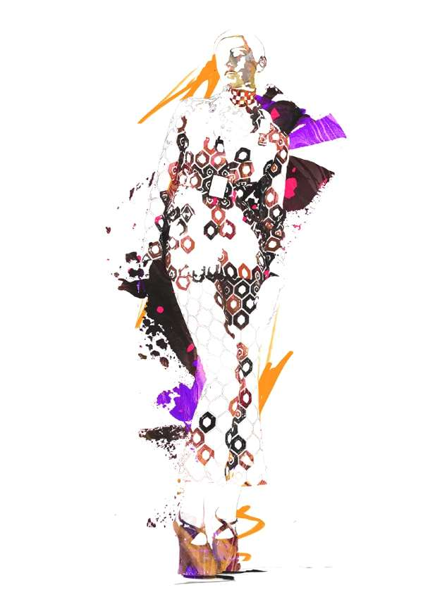 Fashion Illustration Spiros Halaris