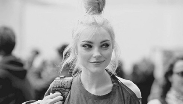 Top knot hairstyle trend