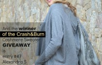 CRASH AND BURN X TRENDSURVIVOR- GIVEAWAY WINNER ANNOUNCEMENT