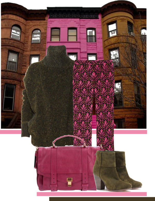Pink and Brown… Happy Chic