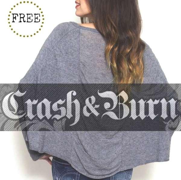 giveaway trendsurvivor- cashmere- crash and burn
