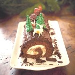 Pippa Middleton's chocolate-yule-log-