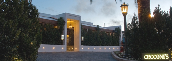 Cecconi's entrance