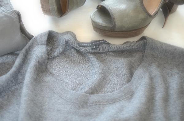 sweater, Chloe booties
