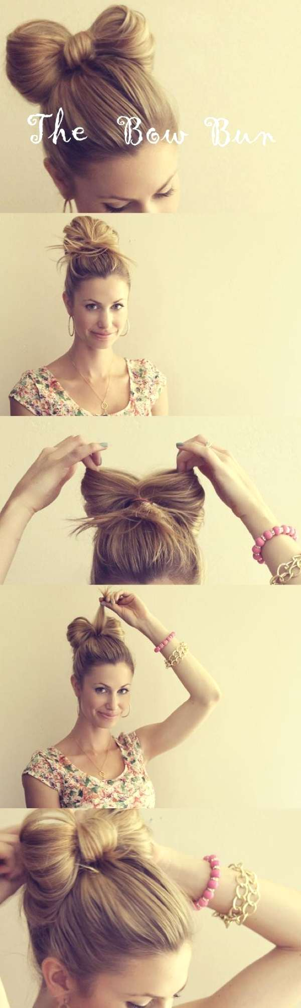 bow top bun