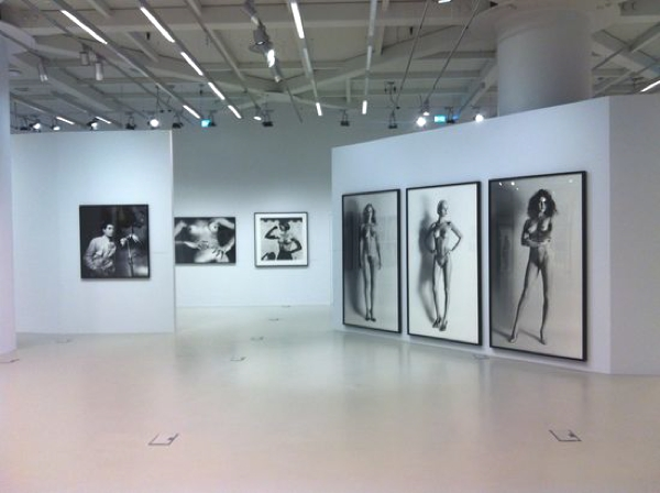 Helmut Newton at the Onassis Cultural centre