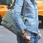 Chanel-double denim