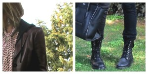 Combat boots Collage