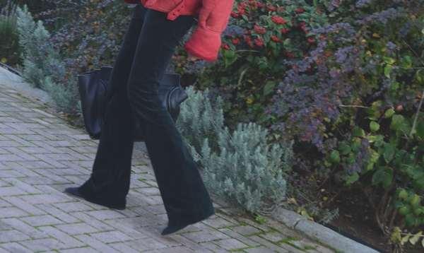 Jbrand corduroy black pants