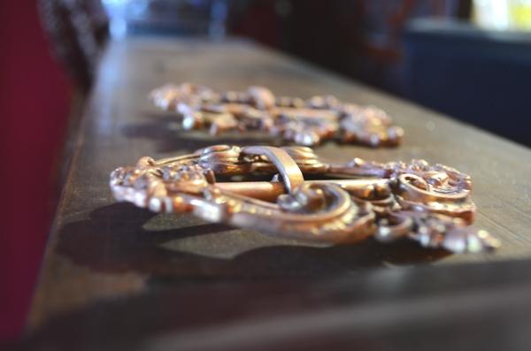 Belts, jewelry designer William Llewellyn Griffiths