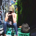 Travel Australia- Melbourne Street Art Graffiti my outfit