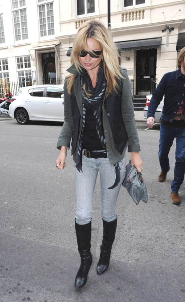 Kate+Moss+Boots+Knee+High+Boots+