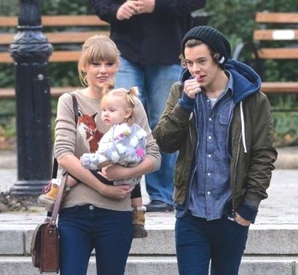 Taylor Swift and harry Styles Street style