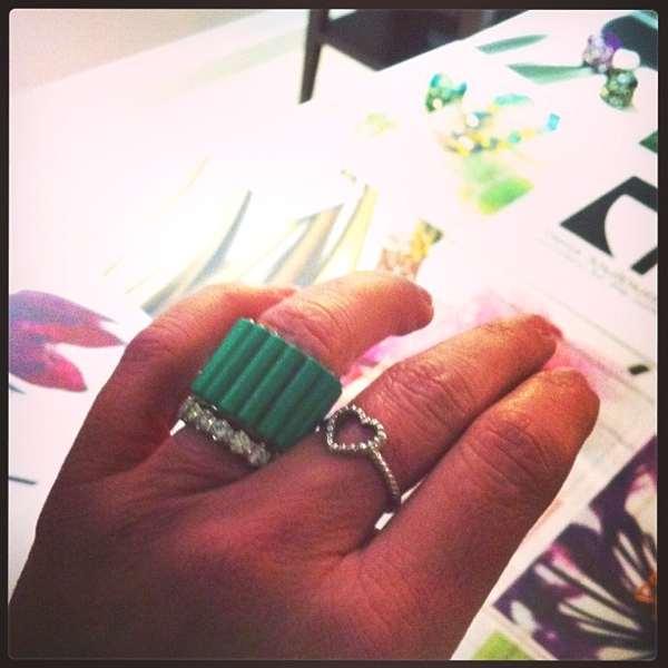 Bela Louloudaki ring