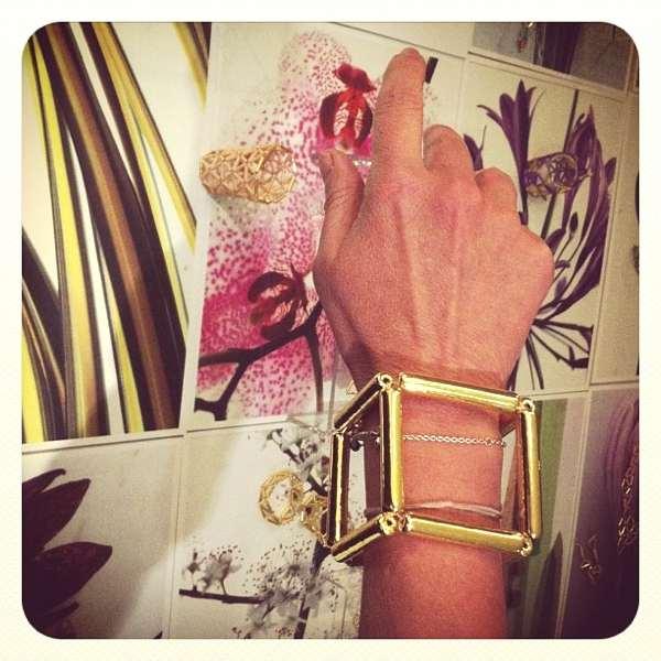 Bella Louloudaki square bracelet