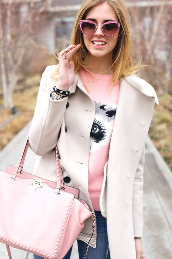 Chiara Ferragni Fashion week day 1