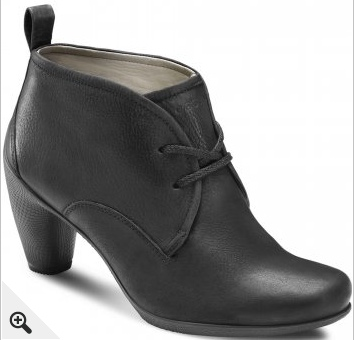 Ecco Charm Womens Lace Up Ankle Boots