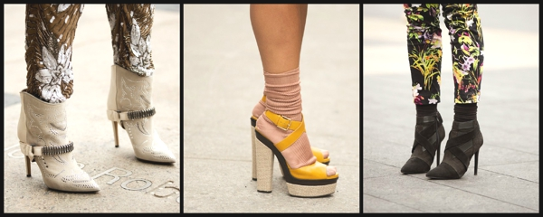 Fashion Week Street Style- The Stiletto Shoe Report 1Collage
