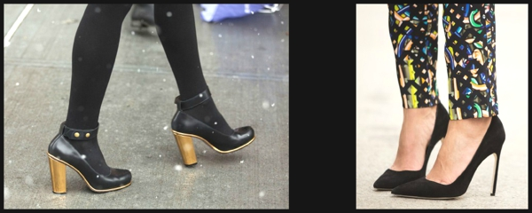 Fashion Week Street Style- The Stiletto Shoe Report 5 Collage