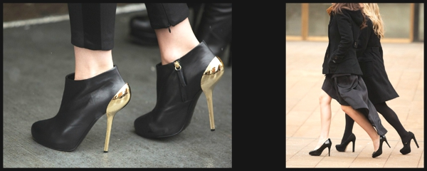 Fashion Week Street Style- The Stiletto Shoe Report2 Collage
