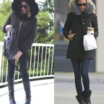 Fur Collar Jacket- Trendsurvivor Olivia Palermo