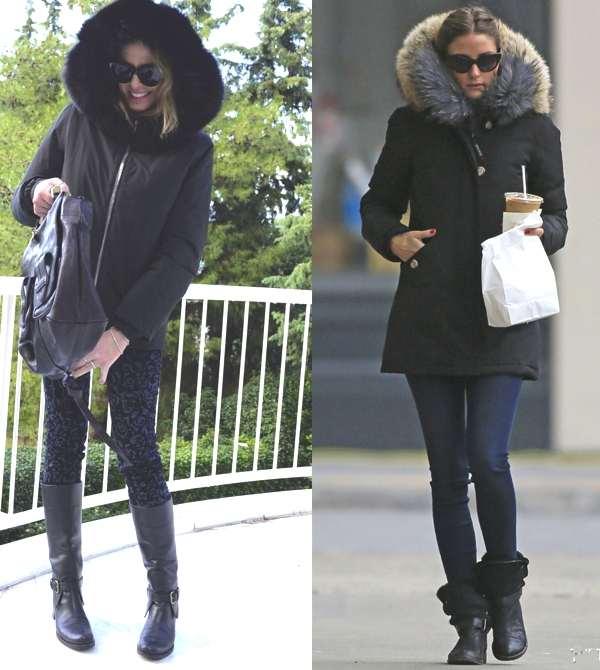 Fur Collar Jacket- Trendsurvivor Olivia Palermo