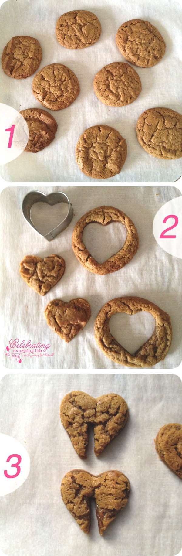 Happy Valentine- Heart Cookies