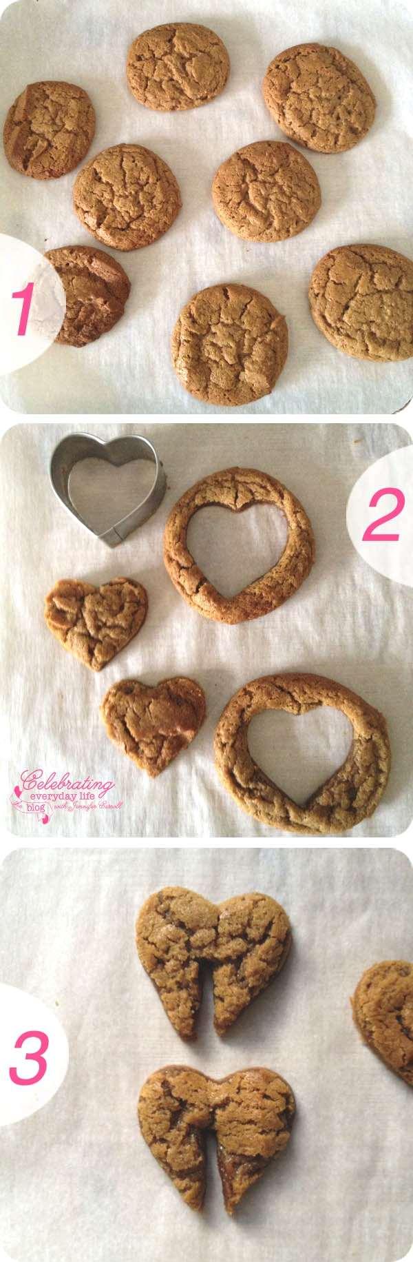 Happy Valentine- Heart Cookies