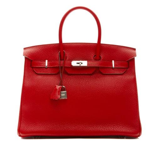 Hermes red Valentine