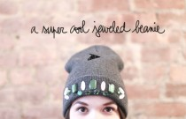 DIY- THE JEWELED BEANIE BY GARANCE DORE (VIDEO)