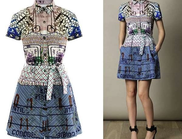 Mary Katrantzou Current:Elliot dress